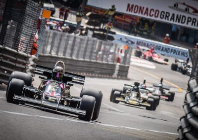 classic F1 cars at Monaco