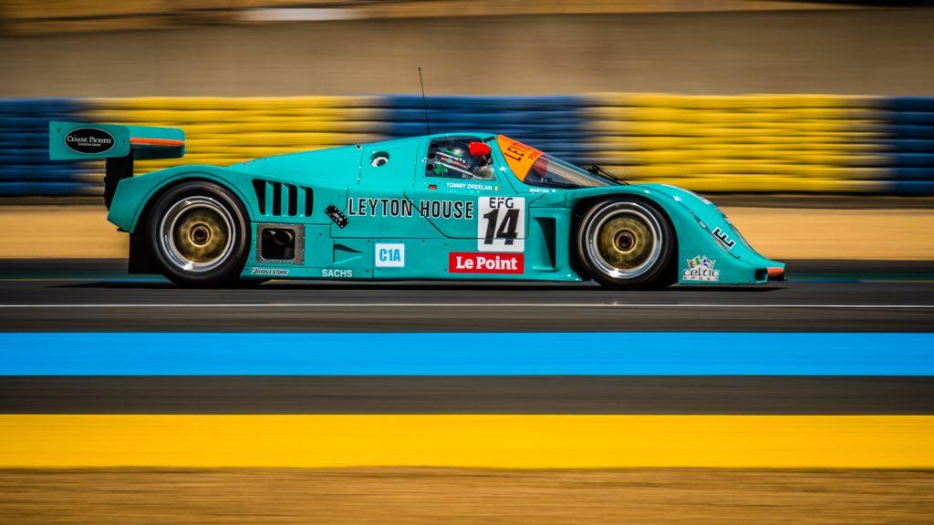 porsche 962c at 2108 Le Mans Classic