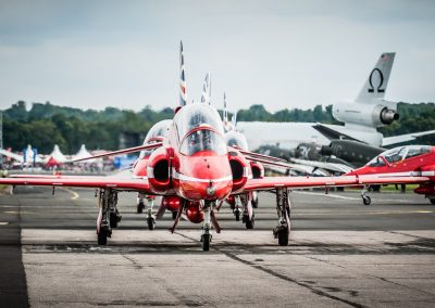 raf red arrows taxiing