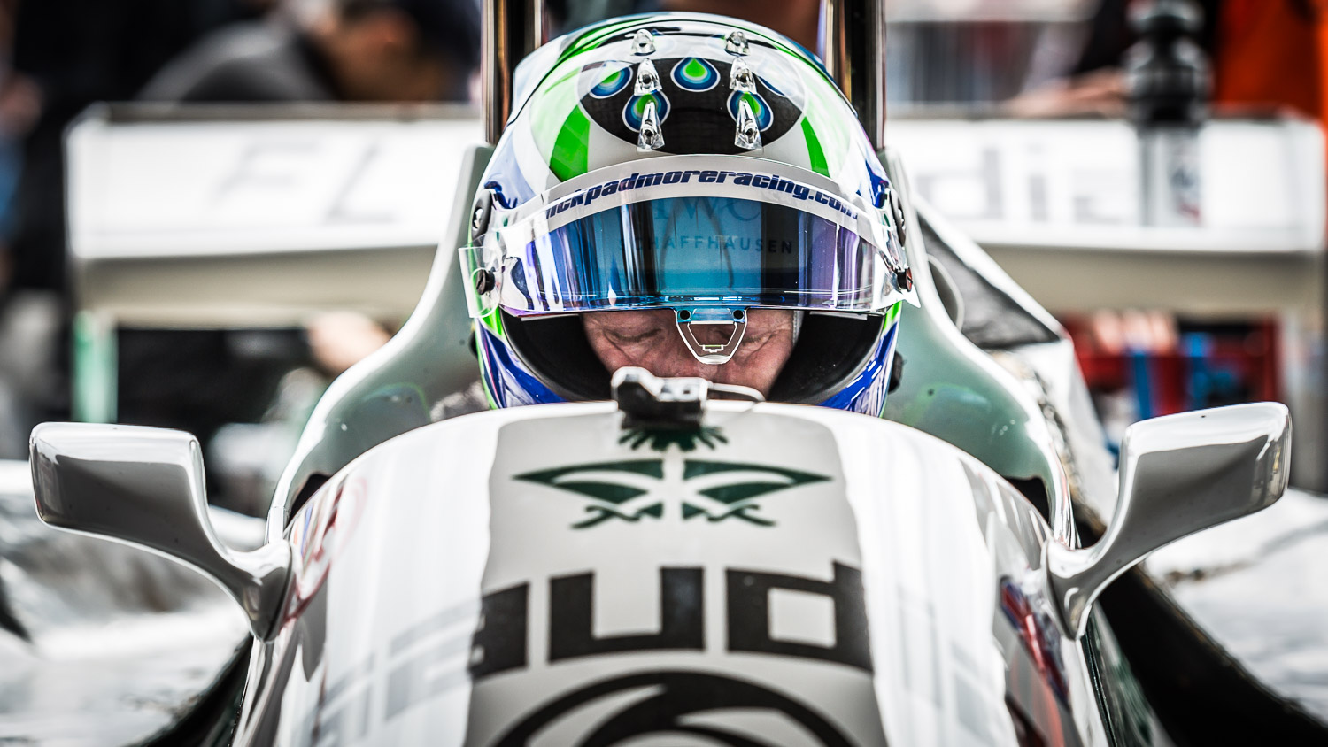 racing driver closed eyes motorsport photography