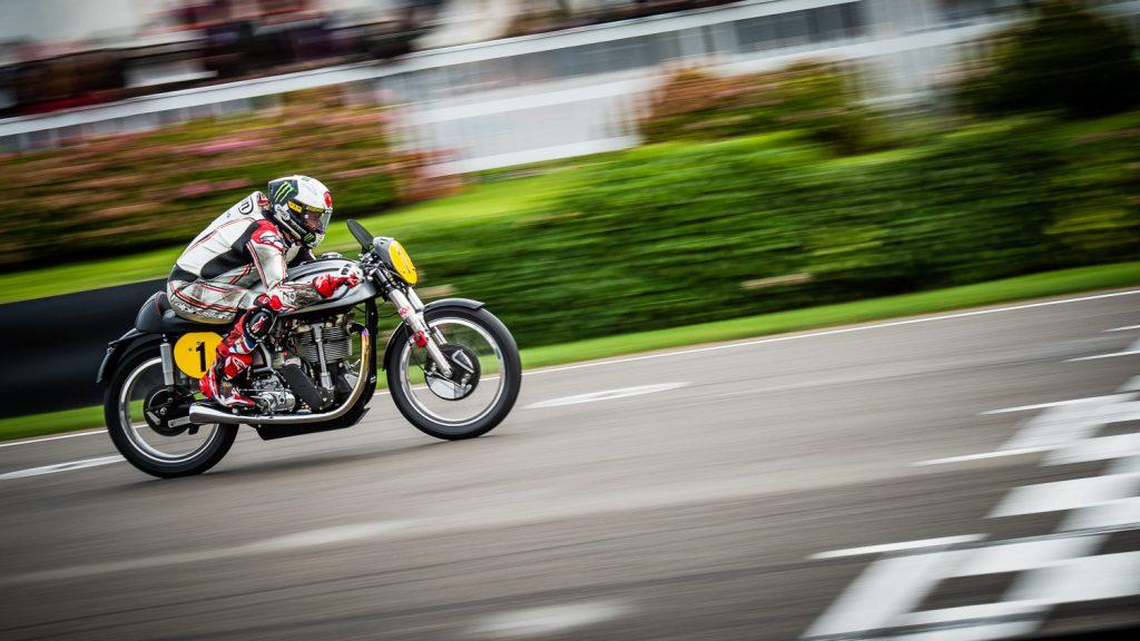 classic motorbike speed blur