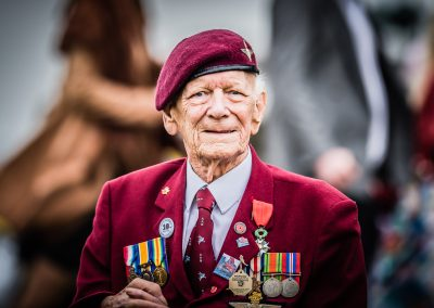 WW2 veteran from pegasus bridge