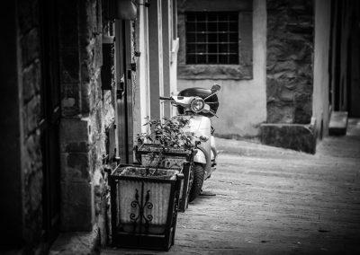 lambretta in Tuscan street