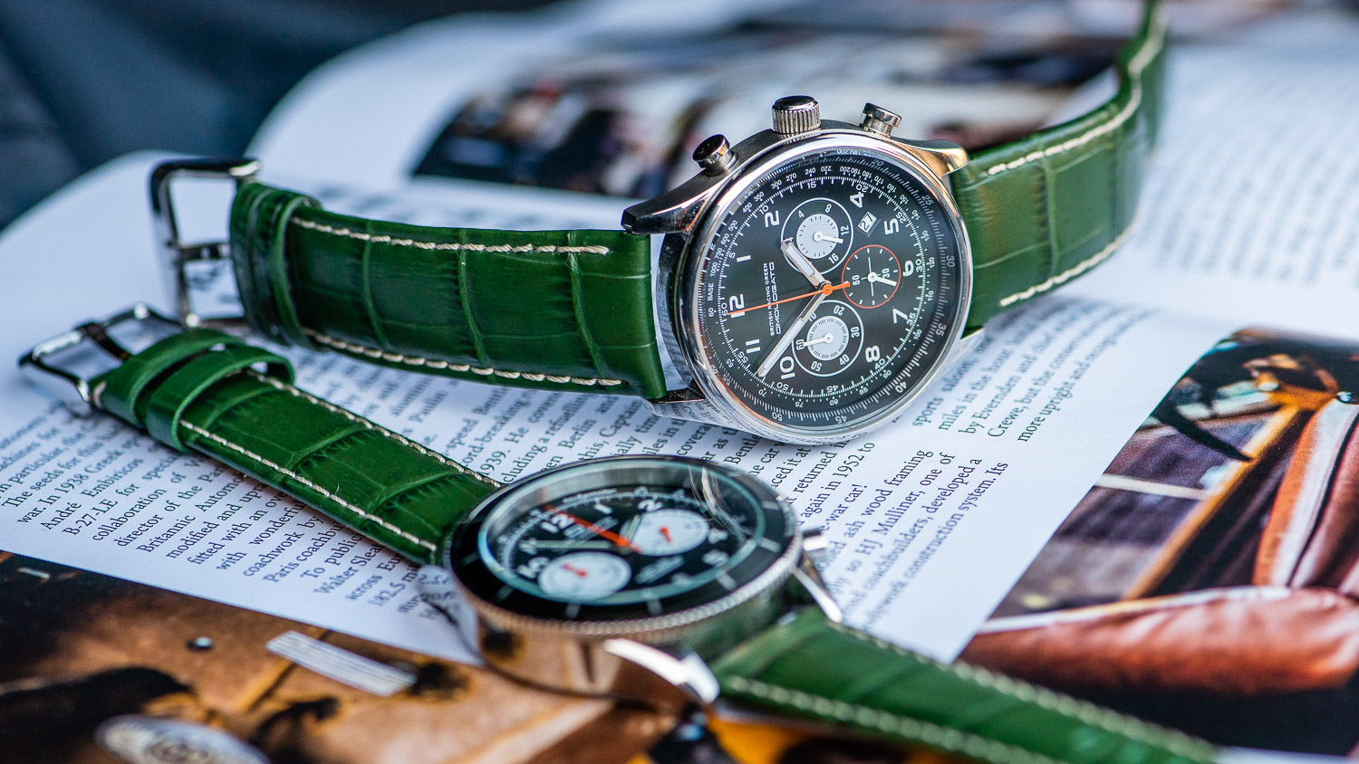 2 green watches