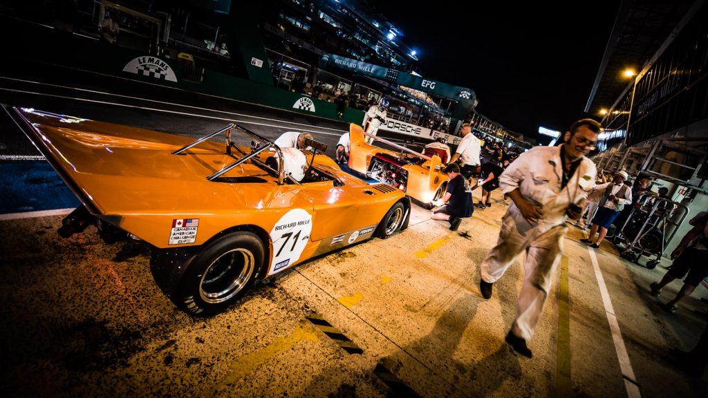 Pit Lane 2018 Le Mans Classic