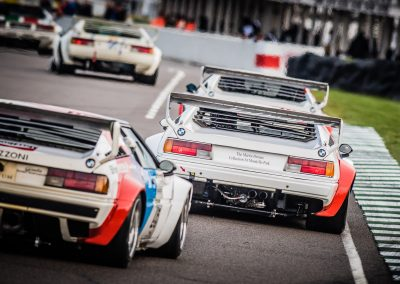 BMW M1 racing cars