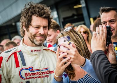 Howard Donald at Silverstone Classic