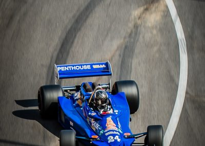 Historic F1 car tyre marks