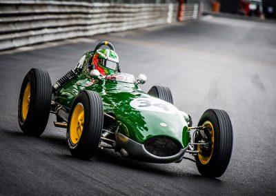 historic racing car at Tabac