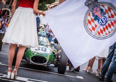 the grid at Monaco Historic Grand Prix