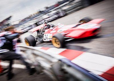 F1 speed blur in Monaco