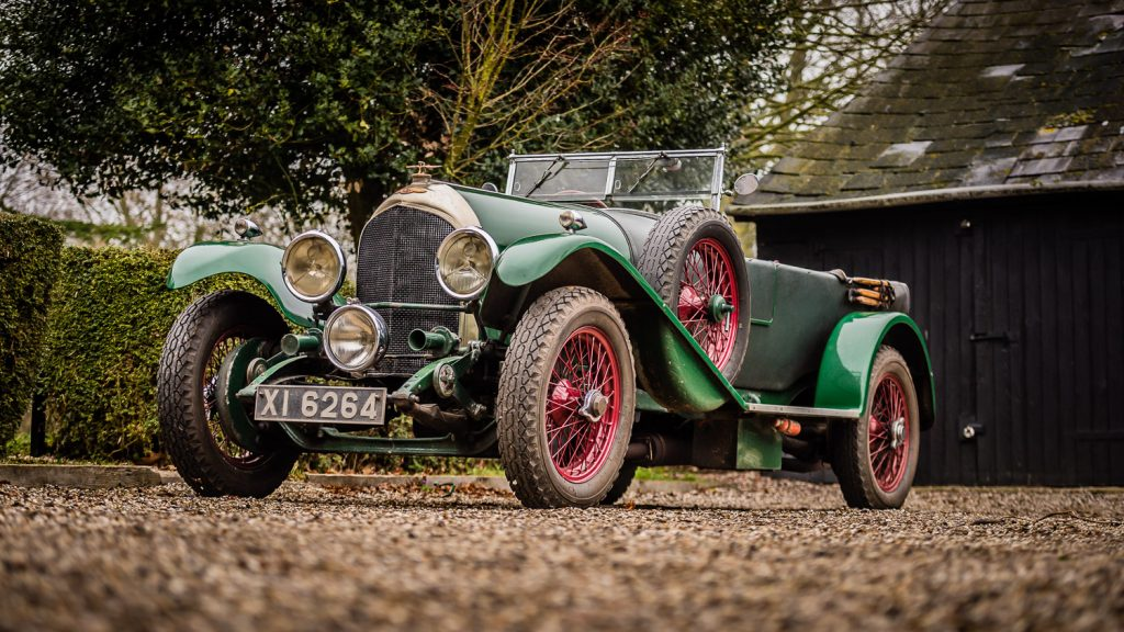1930s racing Bentley XI 6264