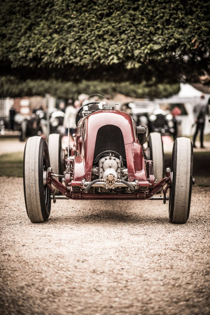 1929 red Bentley Blower