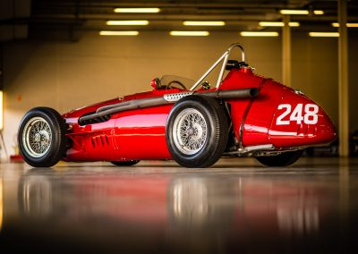 classic Maserati racing car