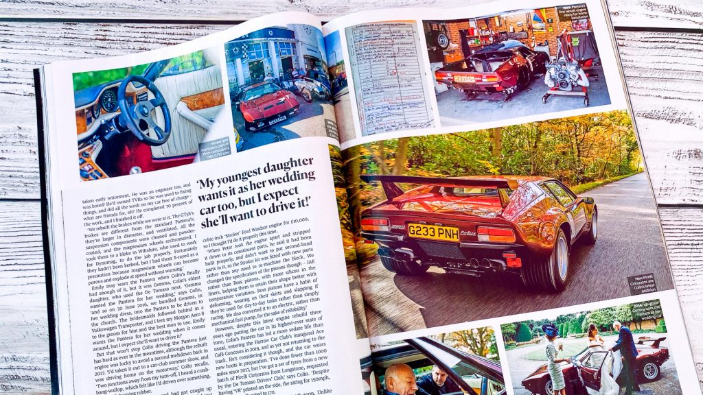 pages of Classic Cars Magazine