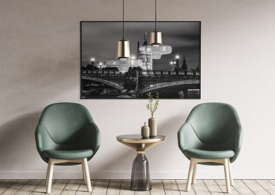 London Bridge photo print in frame