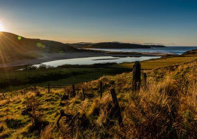 Sunset in Highlands