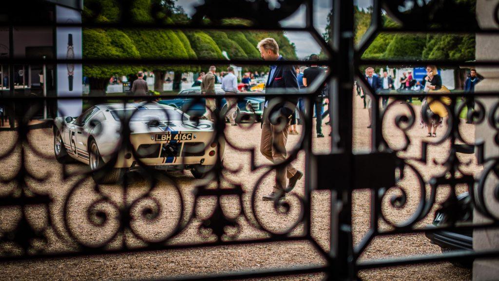 GT40 behind gate