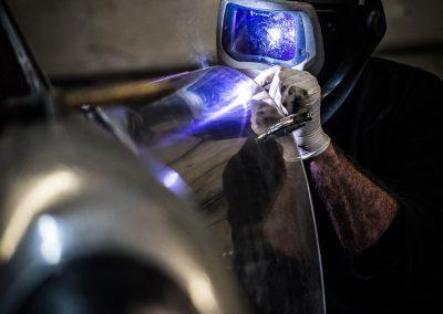 man TIG welding visor