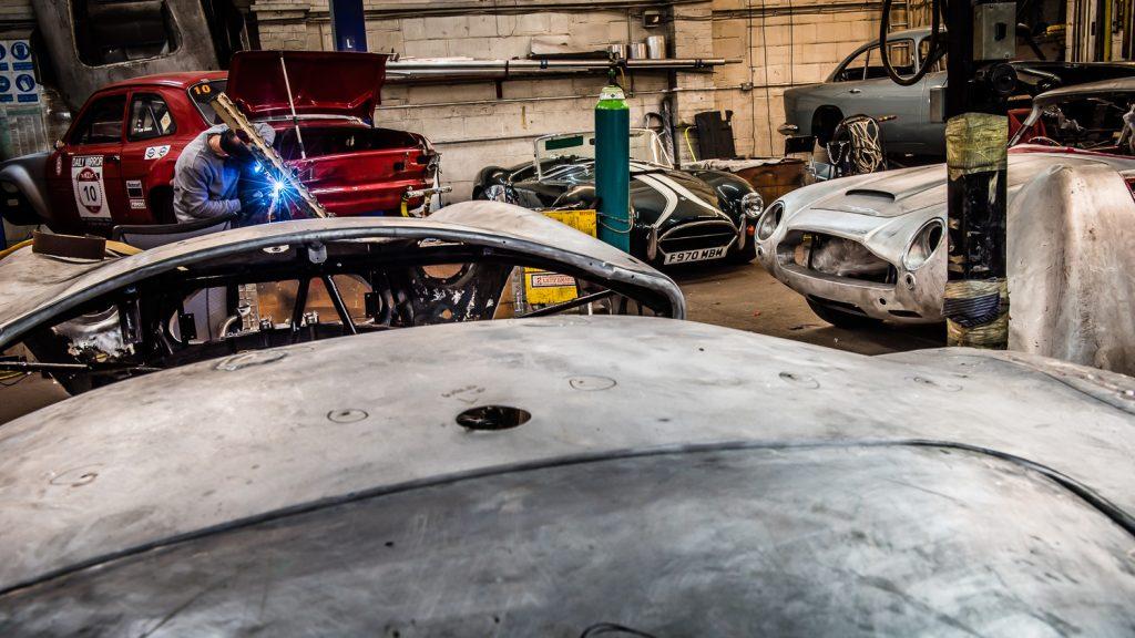 classic car restoration workshop