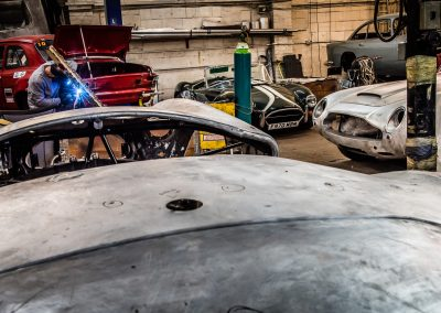 classic car restoration workshop