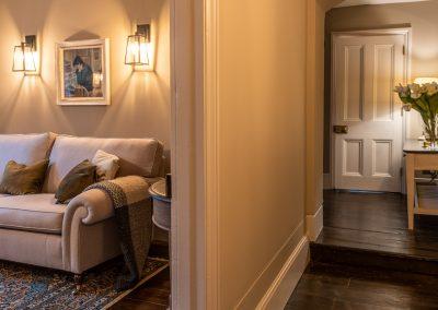 light coloured Sitting Room to Hallway