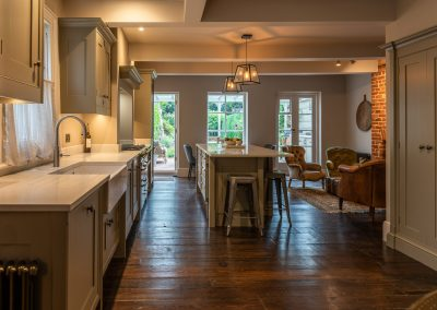 Property and Interiors Kitchen Garden view