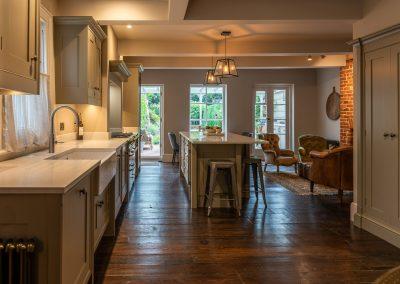 Architecture and Interiors Kitchen Garden view