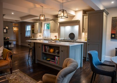 Architecture and Interiors kitchen island