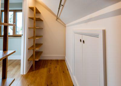Architectural Photography bespoke walk-in wardrobe