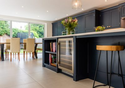 Architectural Photography kitchen wine cooler