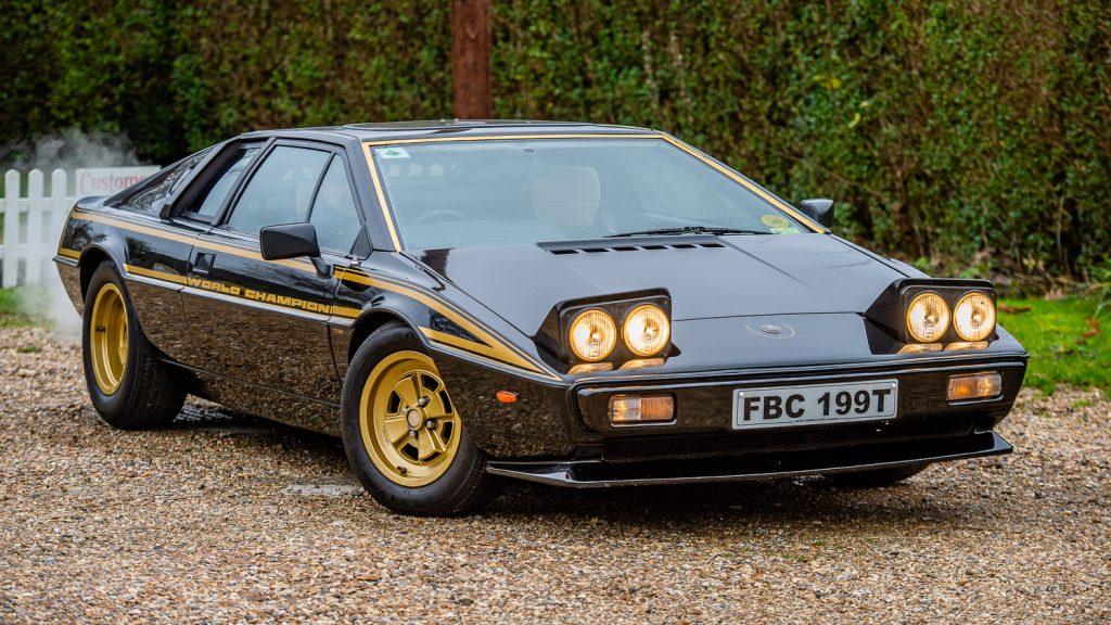 Special edition World Champion Lotus Esprit
