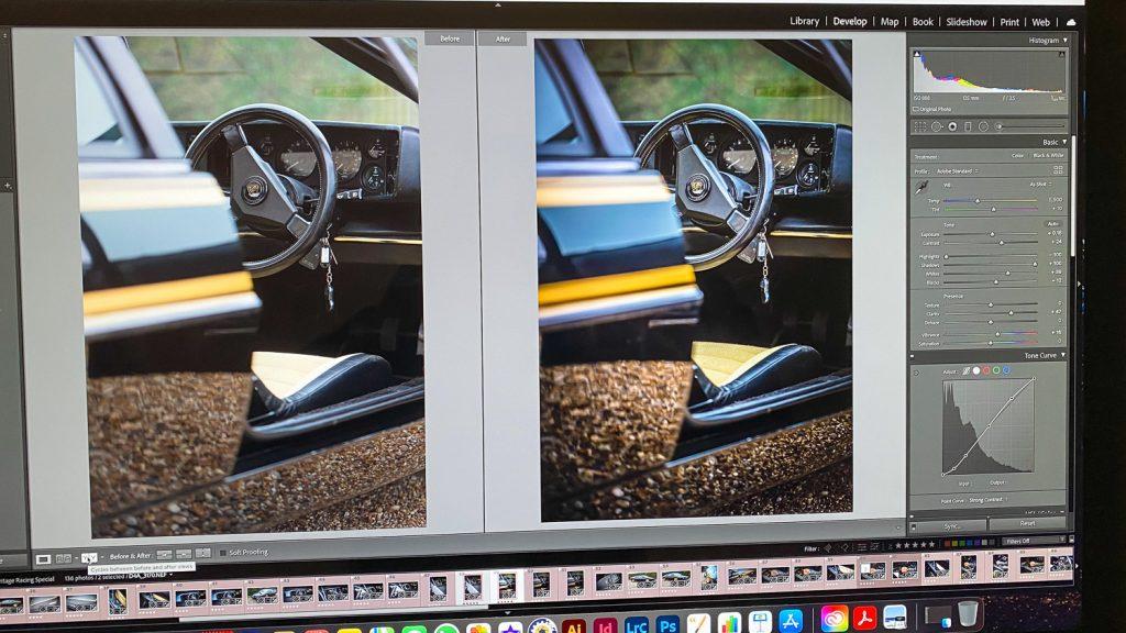 start to finish editing