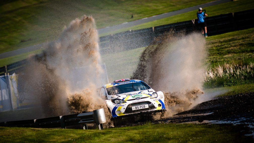 British Rally Championship Oulton Park