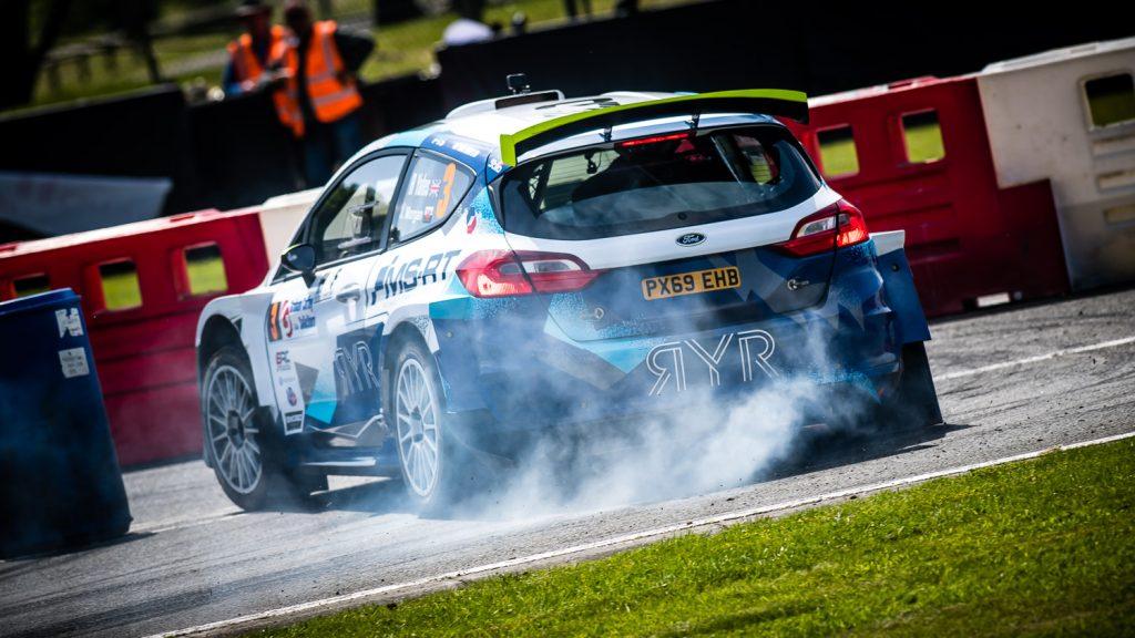 rally car handbrake turn