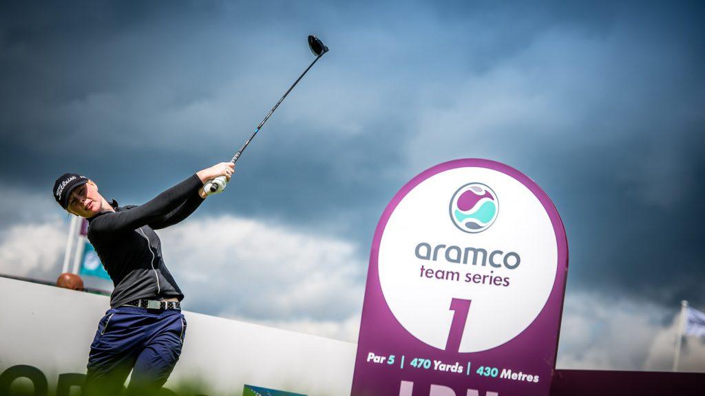 Aramco Team Series - 1st Tee