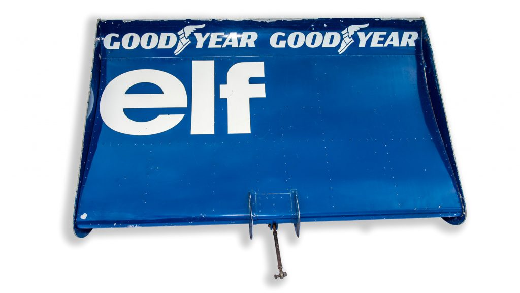 Tyrrell F1 rear wing