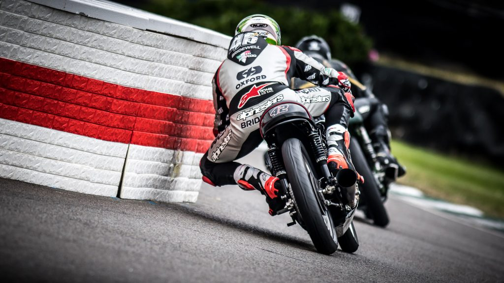 Tommy Bridewell close to Goodwood chicane