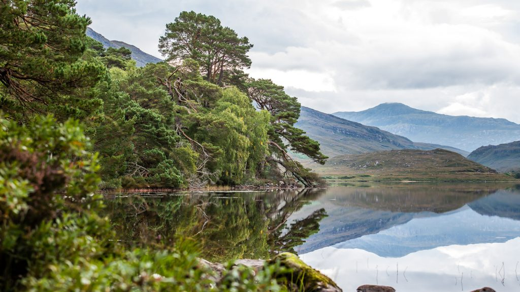 The mirror reflections of Loch Dughail