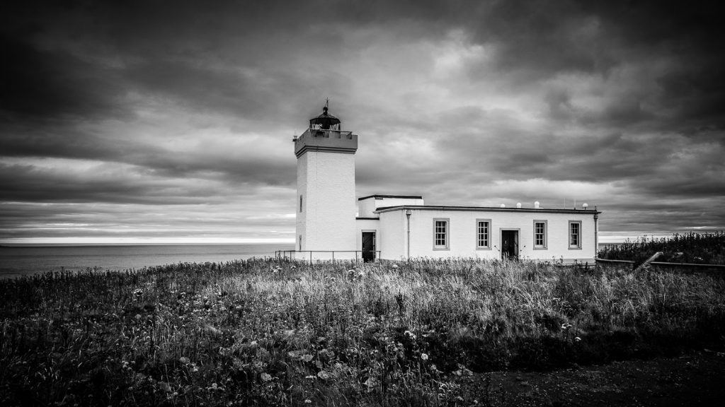 Duncansby Head Lighthouse Scottish Highlands