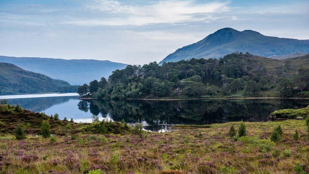 Loch Clair Scottish Highlands