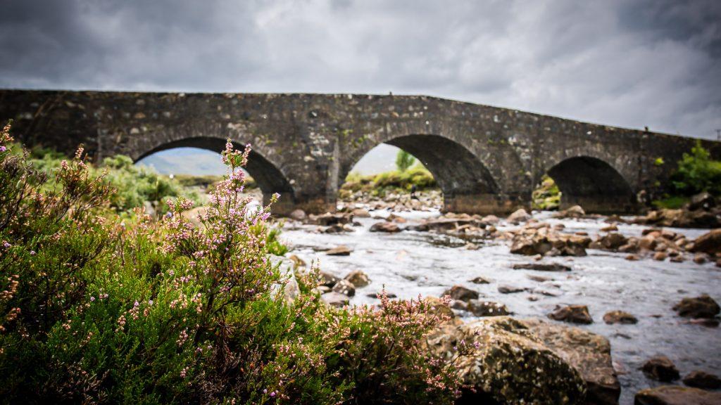 Silgachan Bridge - Scottish Highlands